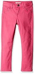 Fox Girls' Trousers  (Dark Fuschia_10 years_815020)