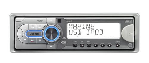 Clarion M309 CD/MP3/WMA Marine Receiver with USB Port