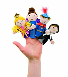 Dreaming Princess Boxed Finger Puppet Set by Manhattan Toy