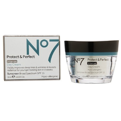 Boots No7 Protect & Perfect Intense Day Cream, SPF 15 1.69 fl oz / 50 ml annemarie borlind zz sensitive day cream 1 7 fl oz pack of 3