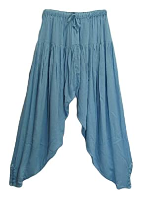 Indian Bohemian Alibaba Gypsy Hippie Meditation Yoga Gauze Clothing Harem Pants