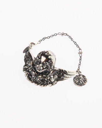 Lotta Djossou Cherub Bracelet - Silver Handmade
