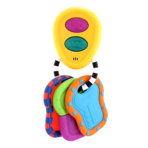 Sassy Tactile Tunes Keys Teether Toy