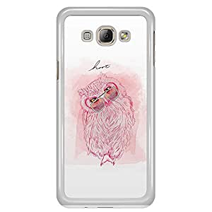 a AND b Designer Printed Mobile Back Cover / Back Case For Samsung Galaxy A8 (SG_A8_3083)