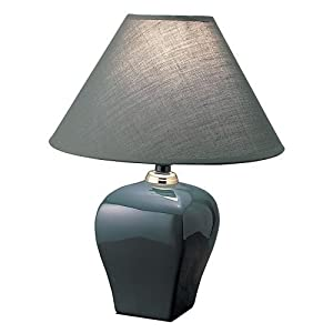 Welcome iHome inc Green Small Ceramic Accent Table Lamp Home Furniture at Sears.com