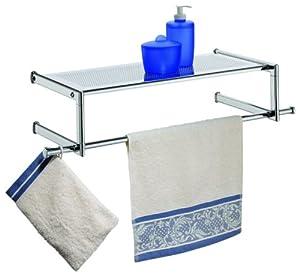 wenko badregal venice handtuchhalter badablage. Black Bedroom Furniture Sets. Home Design Ideas