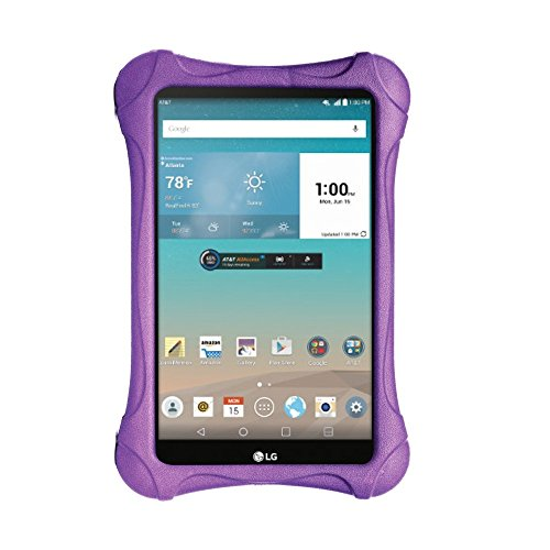 SIMPLEWAY LG G Pad F/II 8.0 Case - Light Weight Kids Friendly Shock Proof Case for 4G LTE AT&T V495/T-Mobile V496/US Cellular UK495 & G Pad 2 8.0 V498 8-Inch Tablet (Purple) (Lg G Pad 4g Lte Tablet compare prices)