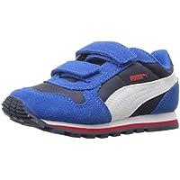 Puma ST Runner NL V Kids Sneaker (Peacoat/Puma White)