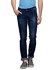 Canary London Blue Men's Slim Fit Jeans - B01HCTD206