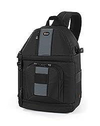 Lowepro SlingShot 302 AW Bag For Canon EOS ,750D ,760D ,70D ,6D, 5D Mark III , 7D Mark III DSLR Camera (Black)