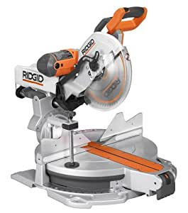 Ridgid MS1290LZA Saw, 12-Inch Compound Sliding Miter with Laser
