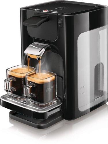 Philips - HD7864/61 - Cafetière Senseo Quadrante - Titane - Noire