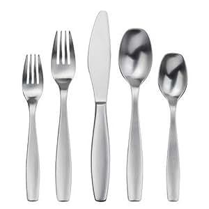 Gourmet settings non stop 20 piece flatware set service for 4 gs flatware - Handmade gs silverware ...