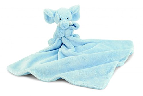 Jellycat® Bashful Blue Elly Soother Blankie front-1037605