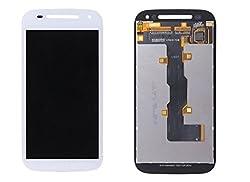Online For Good(TM) Full LCD Touch Digitizer Screen Replacement for Motorola Moto E2 XT1505 XT1511 XT1524 XT1527 Second generation - White