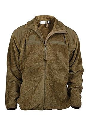 Coyote ECWCS Polar Fleece Gen III Level 3 Jacket (Small)