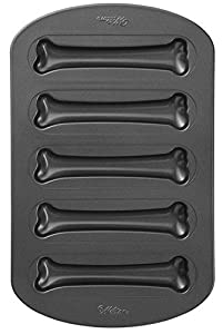 Wilton - Bone Cookie Non-Stick Pan (makes 5 bones)