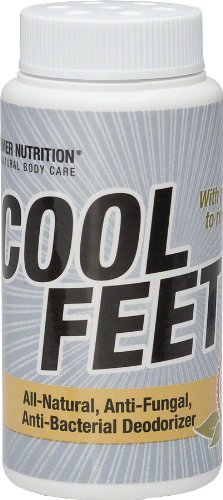 Hammer Nutrition Cool Feet Foot Powder 2.7 Oz, All Natural