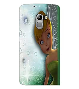 PrintDhaba Cute Girl D-2283 Back Case Cover for LENOVO VIBE K4 NOTE (Multi-Coloured)