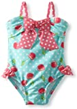 Little Me Baby-girls Infant Cherry Swimsuit