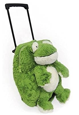 Intelex Novelty Childrens Luggage Frog from Intelex