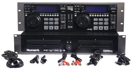Best Review Of NUMARK CDN88 PRO DUAL DJ SCRATCH CD MP3 PLAYER CDN88PRO