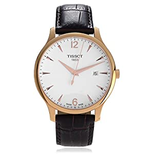 Tissot Tradition T063.610.36.037.00 Leather Strap Mens Watch