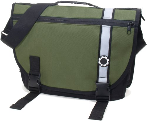 DadGear Courier Diaper Bag - Retro Blue