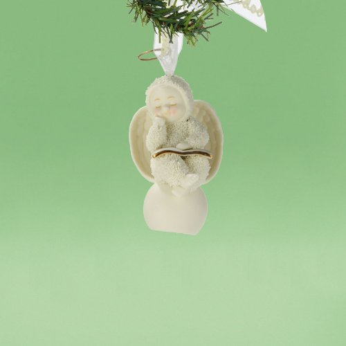 Department 56 Snowbabies by Kristi Jensen Pierro Comforting Words Ornament, 3.15-Inch