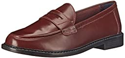 Cole Haan Women\'s Pinch Campus Penny Loafer, Crimson, 7.5 B US