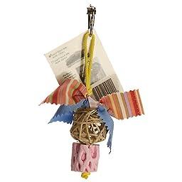 Polly\'s Busy Beak Balloon Bird Chew Toy, Small
