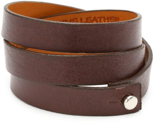 Leighelena Dark Chocolate Triple Wrap Bracelet