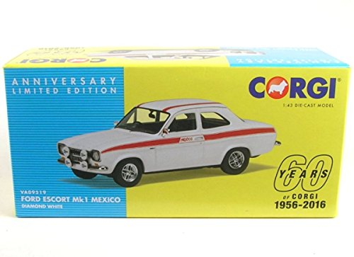 Ford Escort Mk1 Mexico Diecast Model Car