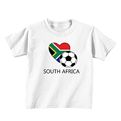 South African Soccer Africa Football Baby Toddler Kid T-shirt Tee - 6mo Thru 7t