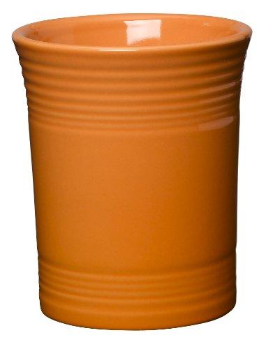 Fiesta 6-5/8-Inch Utensil Crock, Tangerine (Utensil Crock Orange compare prices)