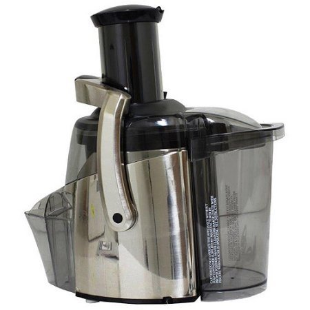 Juiceman 2-Speed Electric Juicer, Stainless Steel, Refurbished (Omega Juicer Pusher compare prices)