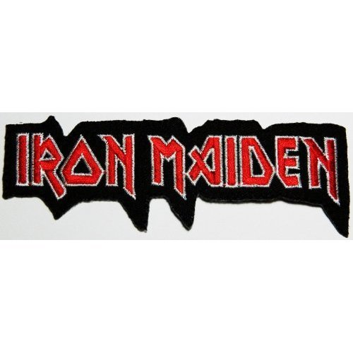 iron maiden patches 11.5x4 cm Music Band patch Embroidered Iron on Patch Sold By R.M.A. by R.M.A Shops