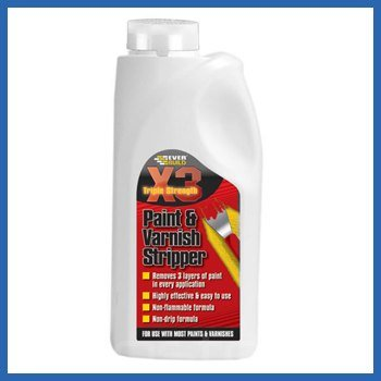 Everbuild X3 Paint and Varnish Stripper - 2.5 Litre