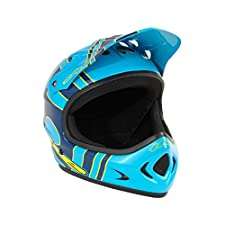T.H.E. Industries Youth The Point5 Abs Helmet, Large, Slant Blue