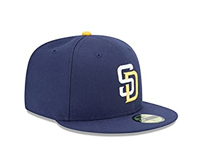 "New Era 59Fifty San Diego Padres ""All Star Game 2016"" Fitted Hat (Navy) MLB Cap"