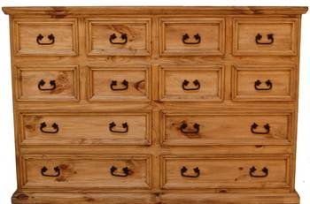 Rustic Mansion Grande 12 Drawer Chest