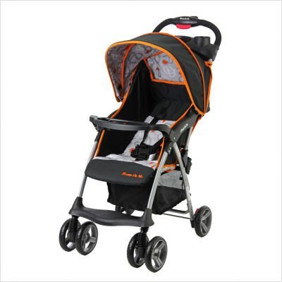 Dream On Me Sassy Stroller, Orange/Black