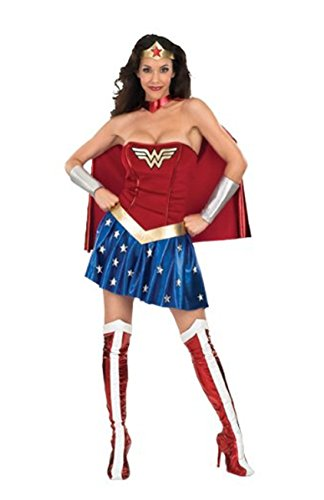 Fantie Deluxe Wonder Woman Adult Costum
