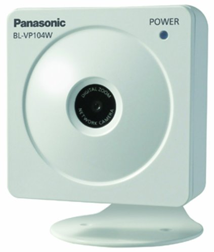Panasonic BL-VP104W HD - H.264 Wireless Network Camera