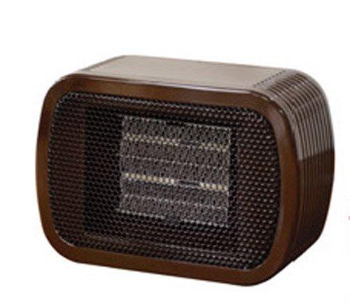 Mini Ceramic Fan Heater BROWN NC41587
