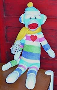 Periwinkle Sock Monkey