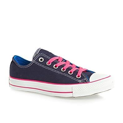 Chaussures à Languette Double Chuck Taylor All Star Converse - Bleu Insignia