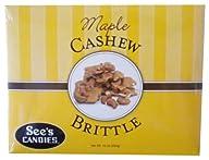 See's Candies 10 oz. Maple Cashew Bri…