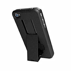 PureGear Kickstand Case + Holster for iPhone 5 in Black PureGear Kickstand Case + Holster for iPhon