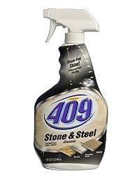 Formula 409 30722 Stone and Steel Cleaner, 32 fl oz Spray Bottle